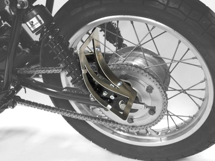 250TR サイドナンバーキット Type1 MOTORROCK(モーターロック)