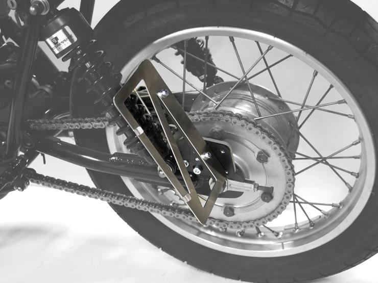 SR400/SR500(キャブ車) サイドナンバーキット Type2 MOTORROCK(モーターロック)