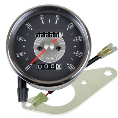 SR400/SR500(03~08年) 80ΦSMITH(スミス)スタイルスピードメーターキット GOODS(モーターガレージグッズ)