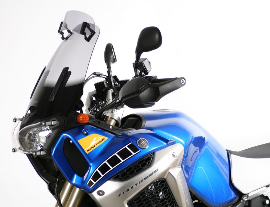 XT1200Z(スーパーテネレ)10~13年 VARIOヴァリオツーリング スクリーン スモーク(フラップ付) MRA