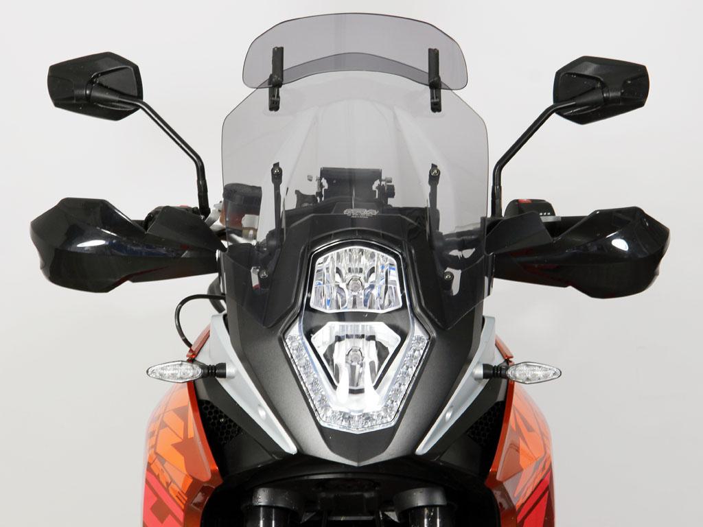 KTM 1190ADVENTURE VARIOヴァリオツーリング スクリーン スモーク(フラップ付) MRA