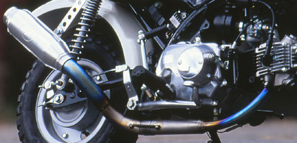 モンキー(MONKEY)キャブ車 ~08年 チタン モンスターマフラー MORIWAKI(モリワキ)