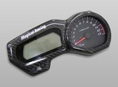 FZ1 FAZER(06年~) メーターカバー Gシルバー製 MAGICAL RACING(マジカルレーシング)
