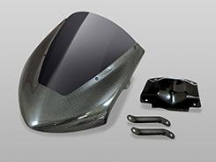 MT-09(14年) バイザースクリーン 平織りカーボン製/スモーク MAGICAL RACING(マジカルレーシング)