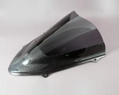 Ninja250R(ニンジャ)08~12年 カーボントリムスクリーン 綾織りカーボン製・スモーク MAGICAL RACING(マジカルレーシング)