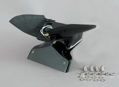 Ninja250R(ニンジャ)08~12年 フェンダーレスキット 平織りカーボン製/一部FRP製・黒 MAGICAL RACING(マジカルレーシング)