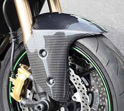 Z1000(14年~) フロントフェンダー 平織りカーボン製 MAGICAL RACING(マジカルレーシング)