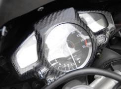 YZF-R1(07~08年) メーターカバー G・シルバー MAGICAL RACING(マジカルレーシング)