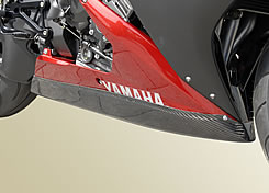 YZF-R1(07~08年) アンダーカウルトレイ 平織りカーボン製 MAGICAL RACING(マジカルレーシング)