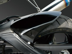 YZF-R6(06~07年) リアフェンダー FRP製・黒 MAGICAL RACING(マジカルレーシング)