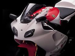 YZF-R7(99年) 2P アッパーカウル FRP製・白 MAGICAL RACING(マジカルレーシング)