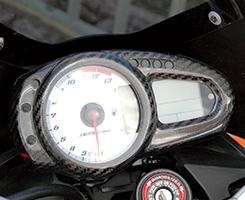Z1000(07~09年) メーターカバー 綾織りカーボン製 MAGICAL RACING(マジカルレーシング)