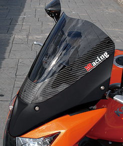 Z1000(07~09年) アッパーカウル FRP製・黒/綾織りカーボン製/クリア MAGICAL RACING(マジカルレーシング)