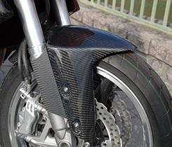 Z1000(07~09年) フロントフェンダー(フォークガード付)綾織りカーボン製 MAGICAL RACING(マジカルレーシング)