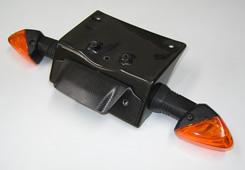 Z1000(07~09年) フェンダーレスキット 純正ウインカー専用 平織りカーボン製 MAGICAL RACING(マジカルレーシング)
