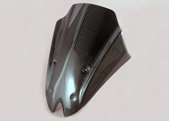 Z1000(10~13年) フロントバイザーカウル 綾織りカーボン製 MAGICAL RACING(マジカルレーシング)