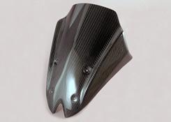Z1000(10~13年) フロントバイザーカウル 平織りカーボン製 MAGICAL RACING(マジカルレーシング)