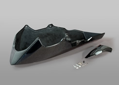 Z1000(10~13年) アンダーカウル FRP製・黒 MAGICAL RACING(マジカルレーシング)