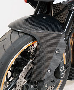 Z1000(10~13年) フロントフェンダー FRP製・黒 MAGICAL RACING(マジカルレーシング)