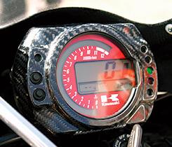 Z1000(03~06年) メーターカバー Gシルバー製 MAGICAL RACING(マジカルレーシング)