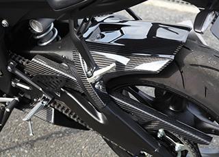 YZF-R6(17年) リアフェンダー/平織りカーボン製 MAGICAL RACING(マジカルレーシング)
