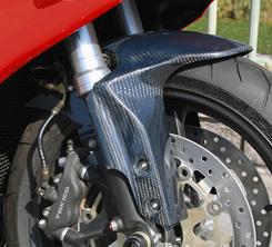 CBR1000RR(04~05年) フロントフェンダー・耐久仕様 綾織りカーボン製 MAGICAL RACING(マジカルレーシング)