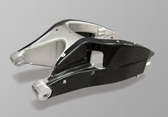 CBR954RR(02~03年) スイングアームカバー 綾織りカーボン製 MAGICAL RACING(マジカルレーシング)