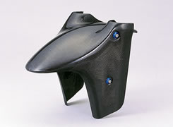 CBR1100XX(97~03年) フロントフェンダー(スペシャルタイプ)綾織りカーボン製 MAGICAL RACING(マジカルレーシング)
