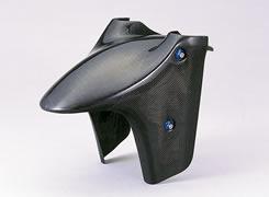 CBR1100XX(97~03年) フロントフェンダー(スペシャルタイプ)平織りカーボン製 MAGICAL RACING(マジカルレーシング)