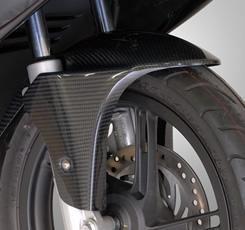 PCX125(10~13年) フロントフェンダー 綾織りカーボン製 MAGICAL RACING(マジカルレーシング)