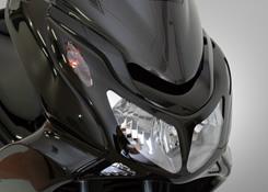 PCX125(10~11年) フェイスマスク FRP製・黒 MAGICAL RACING(マジカルレーシング)