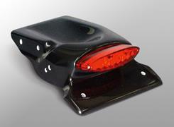 XR250モタード フェンダーレスキット/LEDテールランプ付き FRP製・黒 MAGICAL RACING(マジカルレーシング)