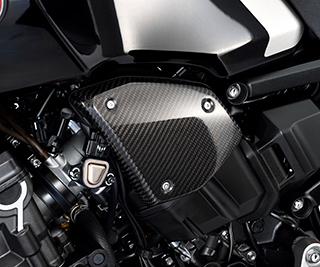 CB1000R(18年) エアクリーナーカバー/綾織りカーボン製 MAGICAL RACING(マジカルレーシング)