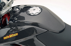 DUCATI HyperMotard タンクアッパーカウル 綾織りカーボン製 MAGICAL RACING(マジカルレーシング)