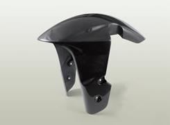 GSX1300R(隼)08年 フロントフェンダー(GSX-R1000タイプ・耐久仕様/フォークガードなし)FRP製・黒 MAGICAL RACING(マジカルレーシング)