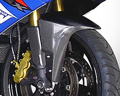 GSX-R1000(01~04年) フロントフェンダー(01年~以降より取付可能)フォークガード付 / FRP製・白 MAGICAL RACING(マジカルレーシング)