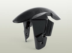 GSX-R1000(05~08年) フロントフェンダー フォークガード付(STD)平織りカーボン製 MAGICAL RACING(マジカルレーシング)