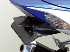 GSX-R1000(07~08年) フェンダーレスキット(ライセンスプレートキット付)平織りカーボン製 MAGICAL RACING(マジカルレーシング)