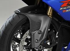 GSX-R1000(09年) フロントフェンダー(フォークガード一体形状)綾織りカーボン製 MAGICAL RACING(マジカルレーシング)