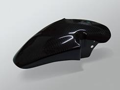 GSX1100S(KATANA) フロントフェンダー(19インチ用)FRP製・黒 MAGICAL RACING(マジカルレーシング)