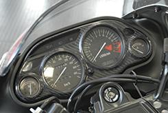 ZZR1100D(99~01年) メーターカバー (99~01年式対応) Gシルバー製 MAGICAL RACING(マジカルレーシング)