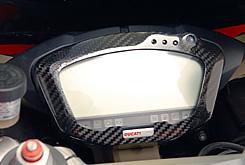 DUCATI 1098 メーターカバー 綾織りカーボン製 MAGICAL RACING(マジカルレーシング)