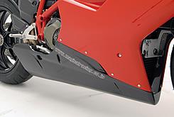 DUCATI 1098 アンダーカウル(純正マフラー対応)FRP製・黒 MAGICAL RACING(マジカルレーシング)