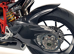 DUCATI 1098 リアフェンダー 平織りカーボン製 MAGICAL RACING(マジカルレーシング)
