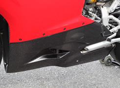 DUCATI 1199 Panigale(12年) アンダーカウル 平織りカーボン製 MAGICAL RACING(マジカルレーシング)
