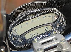 DUCATI Monster696 メーターカバー 綾織りカーボン製 MAGICAL RACING(マジカルレーシング)