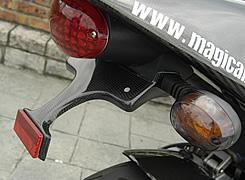 BUELL XB9R FireBolt(03~05年) フェンダーレスキット 綾織りカーボン製 MAGICAL RACING(マジカルレーシング)