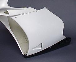 サイドカウル(左右セット)・998タイプ FRP製・白 MAGICAL DUCATI RACING(マジカルレーシング) 996(94年~)