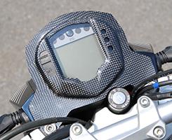 KTM 390DUKE メーターカバー Gシルバー製 MAGICAL RACING(マジカルレーシング)