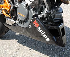 KTM 125DUKE アンダーカウル FRP製・白 MAGICAL RACING(マジカルレーシング)